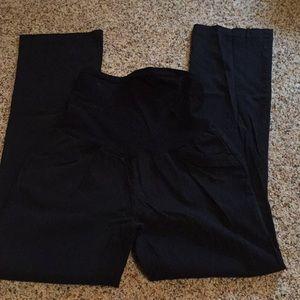 Motherhood Maternity Black Dress Pants Medium